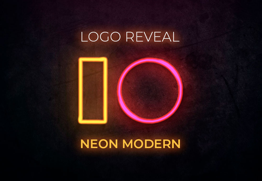 LogoReveal-IO-NeonModern