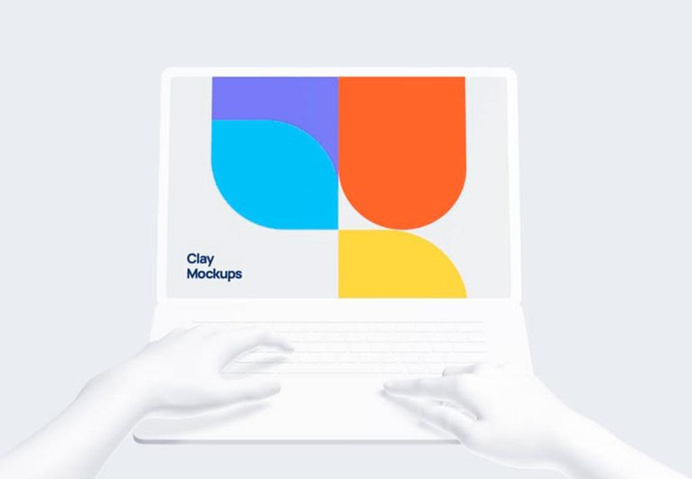 mockups of devices, macbooks, portatil, laptop, 3D, photoshop, figma