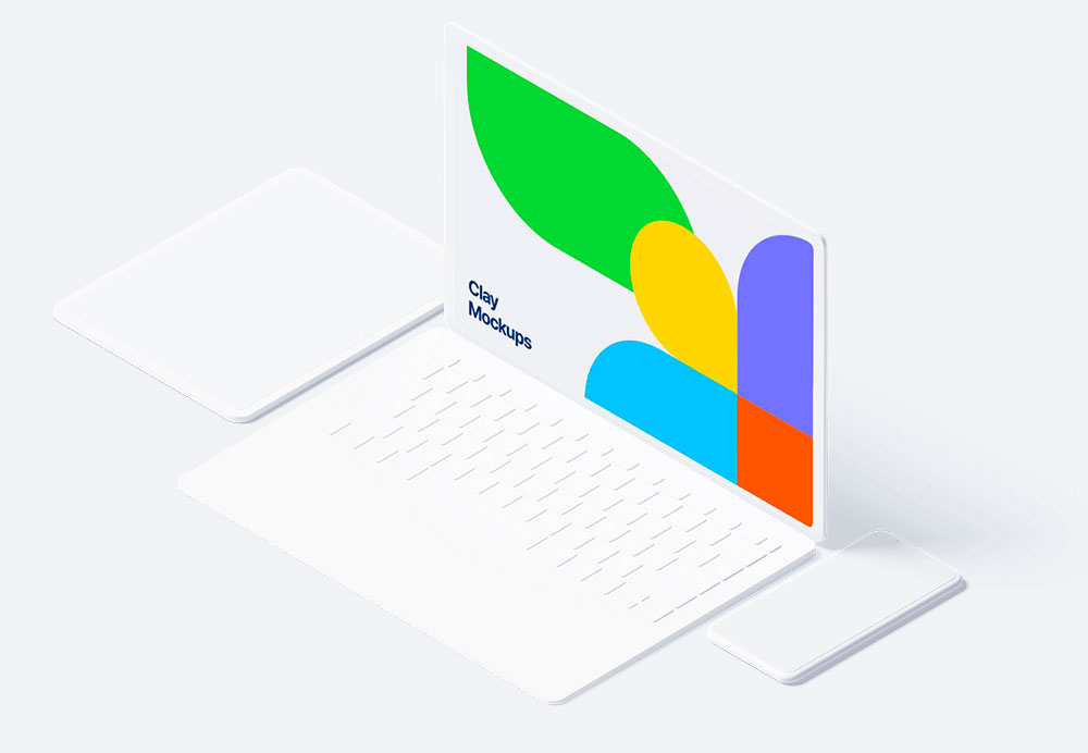 macbook, device, mockup, photoshop