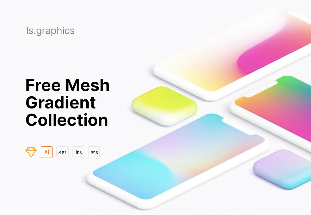 mockups devices gradients free