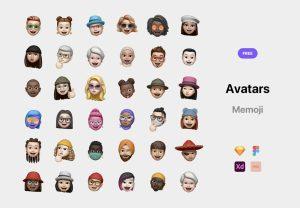 avatars memoji pack