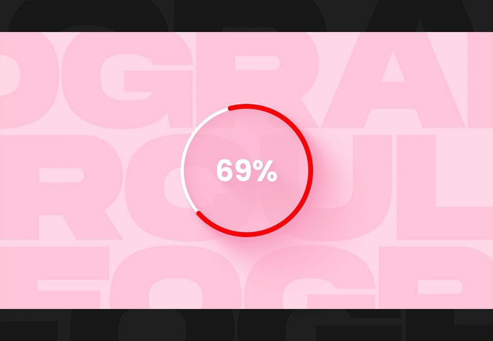 demo graph circular percent 03